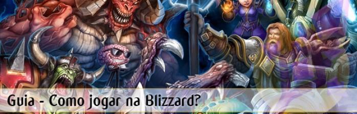 Como jogar na Blizzard?