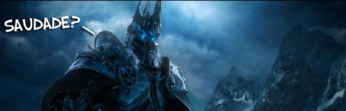 """Sinto saudade da facilidade da Wrath of the Lich King"""