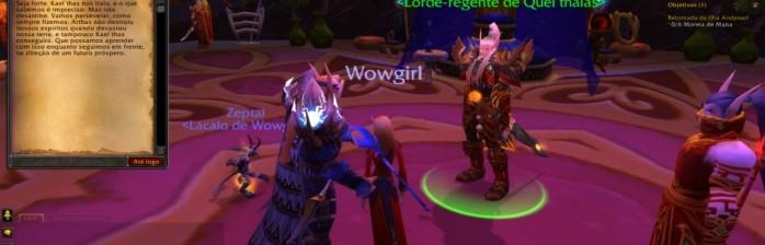 Screenshots do World of Warcraft em português (Horde)!