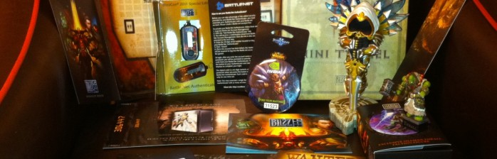 BlizzCon 2011 Goodie Bag