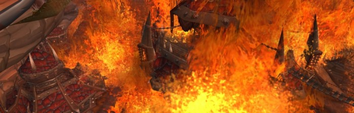 Patch 4.3 Deathwing incendeia Orgrimmar e Stormwind!