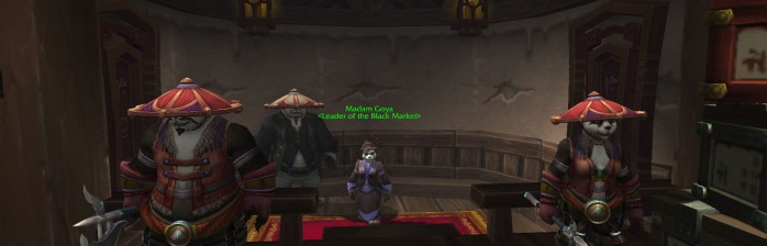 Mists of Pandaria: O mercado negro