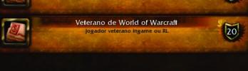 Nova conquista: Veterano de World of Warcraft