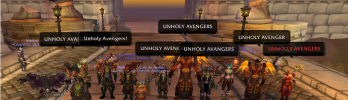 Screenshot da semana: Guild Unholy Avengers e Masteavatar