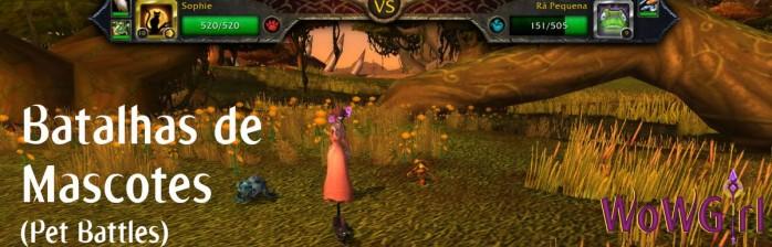 Novidades Patch 5.1: Batalhas de Mascotes