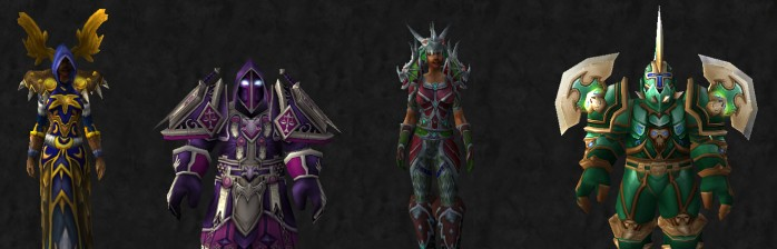 [Transmog] Dungeon set da Burning Crusade