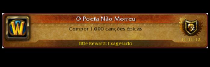 [WoWPop] O poeta não morreu