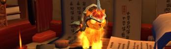 Mascote Gatinho Borralheiro em breve na Blizzard Store!