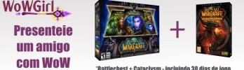 Presenteie um amigo com WoW Battlechest + Cataclysm!