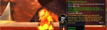 [Druida] Tenha a forma de gato de fogo sem o Cajado