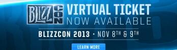 Ingressos virtuais da BlizzCon 2013 à venda!