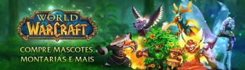 Montarias, mascotes e serviços da BlizzStore agora em reais!