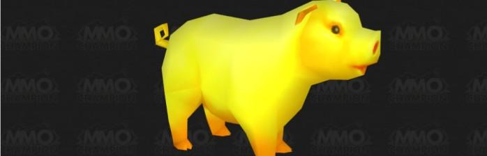 porco dourado