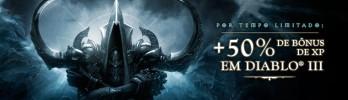 [Diablo III] Bônus de 50% de xp por tempo limitado