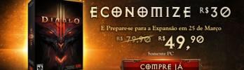 Diablo III em Promoção – Economize R$30,00