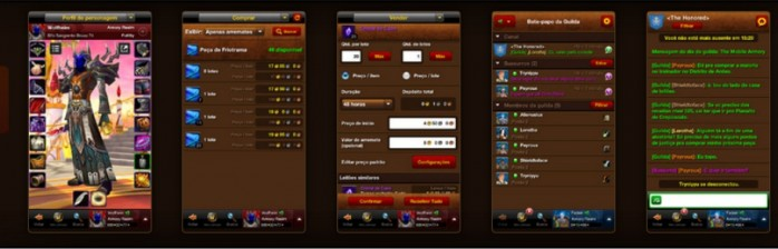 Aplicativos de celular para jogadores de WoW