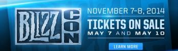 BlizzCon 2014 – dias 7 e 8 de Novembro!