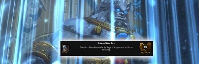 [PvE] Heróico: Norushen