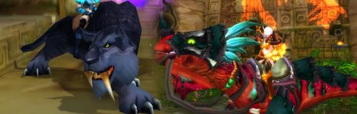 [Montarias] A Pantera e o Raptor de Zul'Gurub