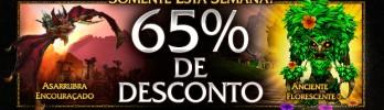 Asarrubra Encouraçado e Anciente Florescente com 65% de desconto!