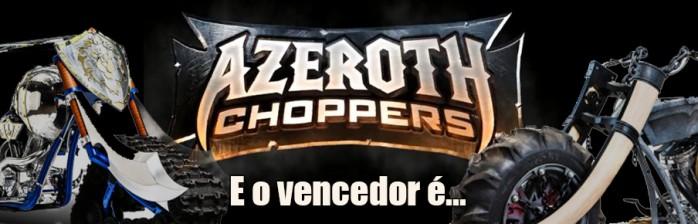 Divulgada a moto vencedora do Azeroth Choppers!
