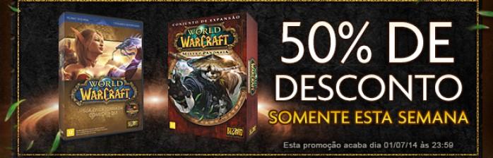 World of Warcraft em promoção!