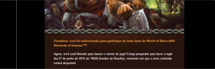 Começa hoje o Beta de Warlords of Draenor!