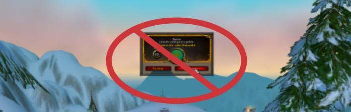 [Tutorial] Como bloquear convites de guilda?