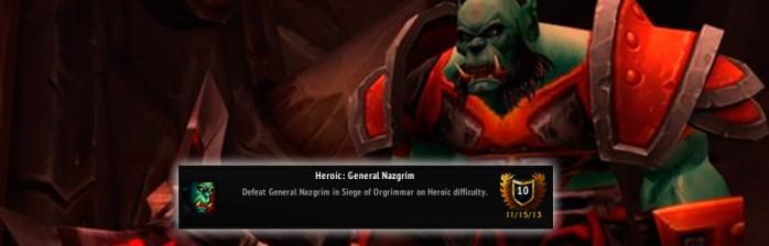 [PvE] Heróico: General Nazgrim