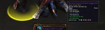 [Warlords of Draenor] Recompensas de missões têm níveis diferentes de itens