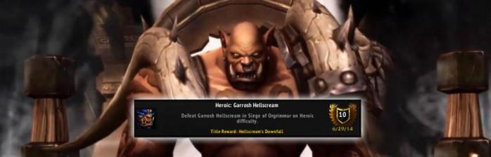 [PvE] Heróico: Garrosh Grito Infernal