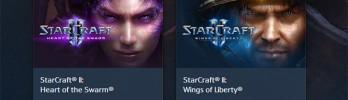 [Starcraft] StarCraft Wings of Liberty mais Heart of the Swarm por R$ 60,00