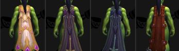 [Warlords of Draenor] Novos Modelos de Capa