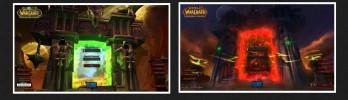 [Warlords of Draenor] Nova tela de login vs Tela do Burning Crusade
