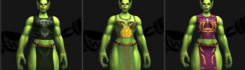 [Warlords of Draenor] Novos Modelos de Tabardo