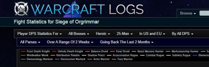 Análise de Desempenho Individual com Warcraft Logs