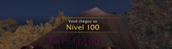 Jogador upa 100 personagens nível 100