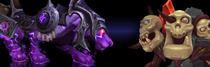 Nova montaria da Blizzard Store e Mascote de Heroes!
