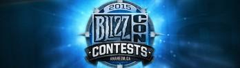 Concursos da BlizzCon 2015! Vocês estão preparados?