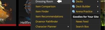 [Transmog] Aprenda a usar a Dressing Room no Wowhead!