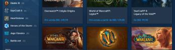 A loja Blizzard e sua relação com os jogadores