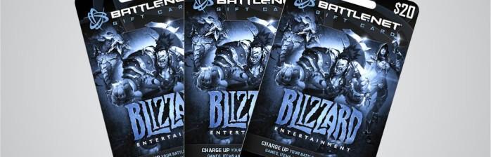 Cartões pré-pagos da Battle.net no Brasil!