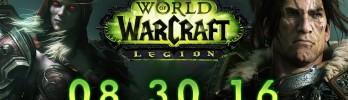 Horário de lançamento de Legion