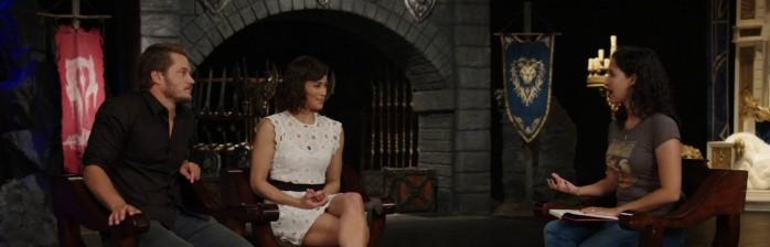 Entrevista: Travis Fimmel e Paula Patton