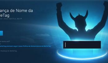 Novo serviço: Mudança de Battle Tag