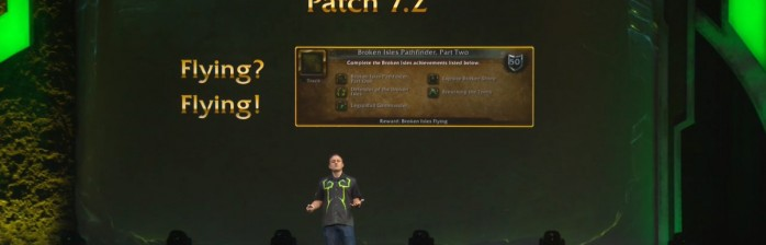 [BlizzCon 2016] Voo confirmado e novas Montarias no patch 7.2