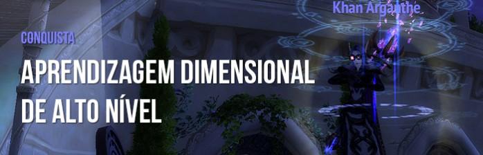 [Conquistas] Aprendizagem dimensional de alto nível