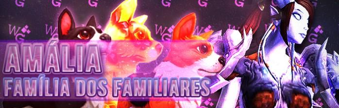 [Mascotes] Amália – Família dos Familiares