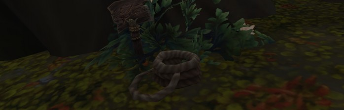 corda gruta misteriosa