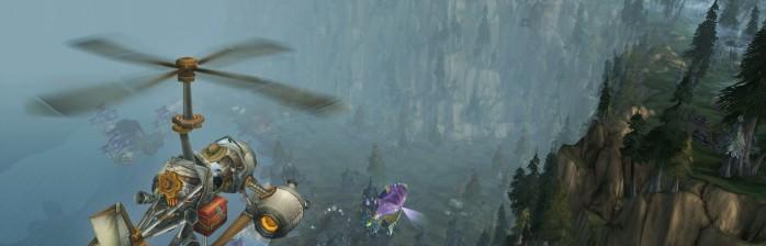 Vôo em Warcraft: facilidade ou dependência?